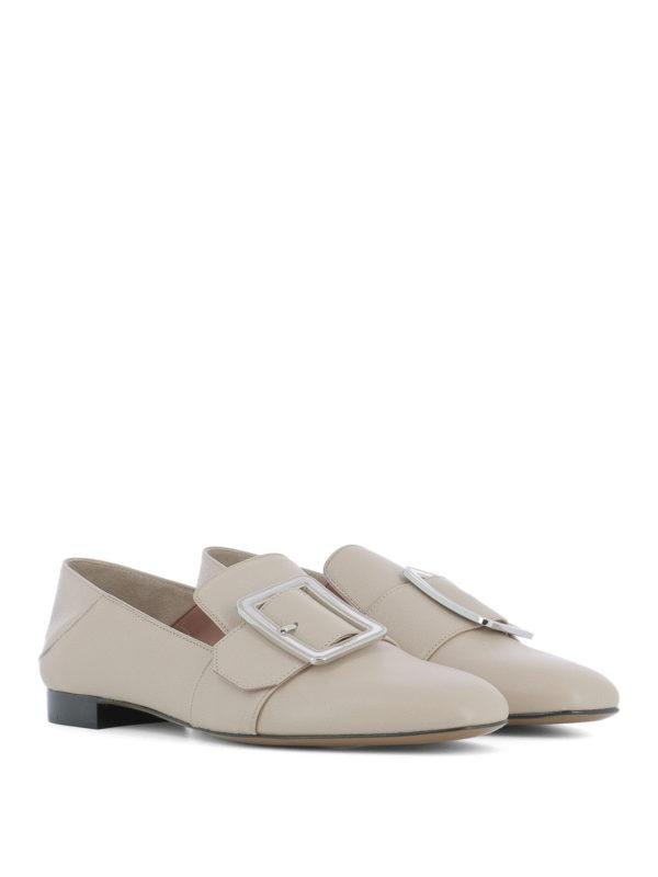 BALLY: Mokassins und Slippers online - Slippers - Beige