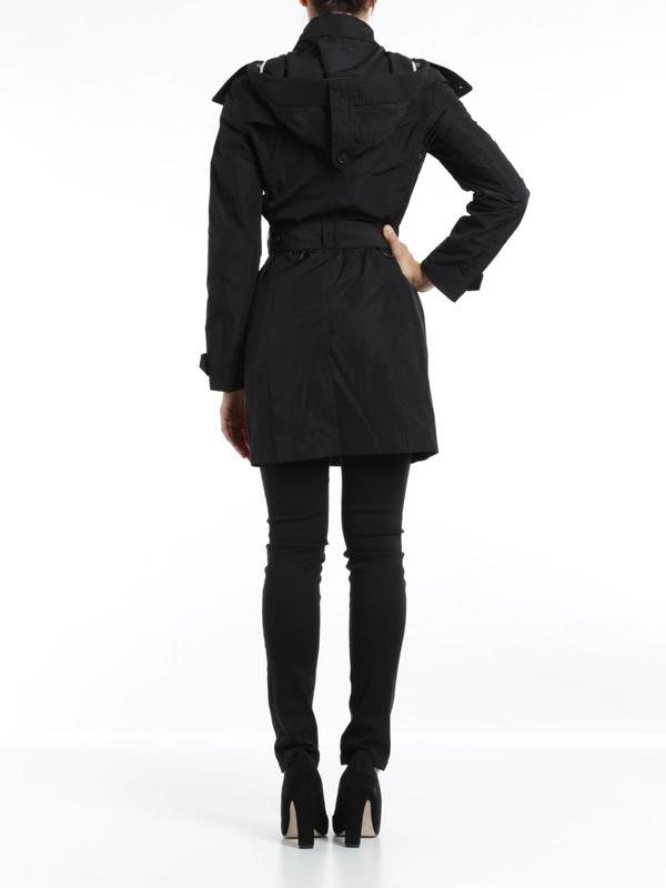 Trenchcoat Fur Damen - Schwarz shop online: Burberry Brit