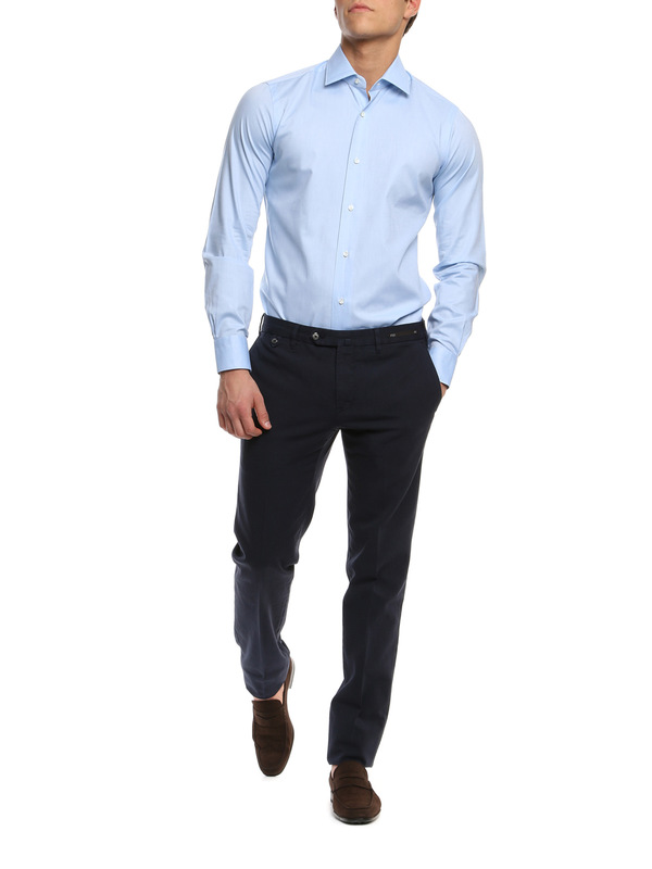 BARBA: Hemden online - Hemd Fur Herren - Hellblau
