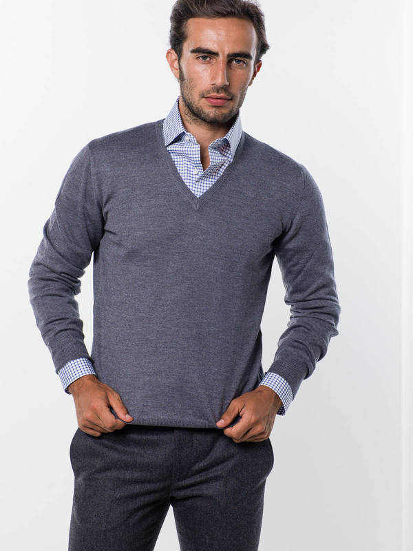BARBA: v necks online - V-neck sweater