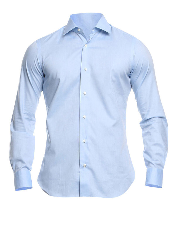 BARBA: Hemden - Hemd Fur Herren - Hellblau
