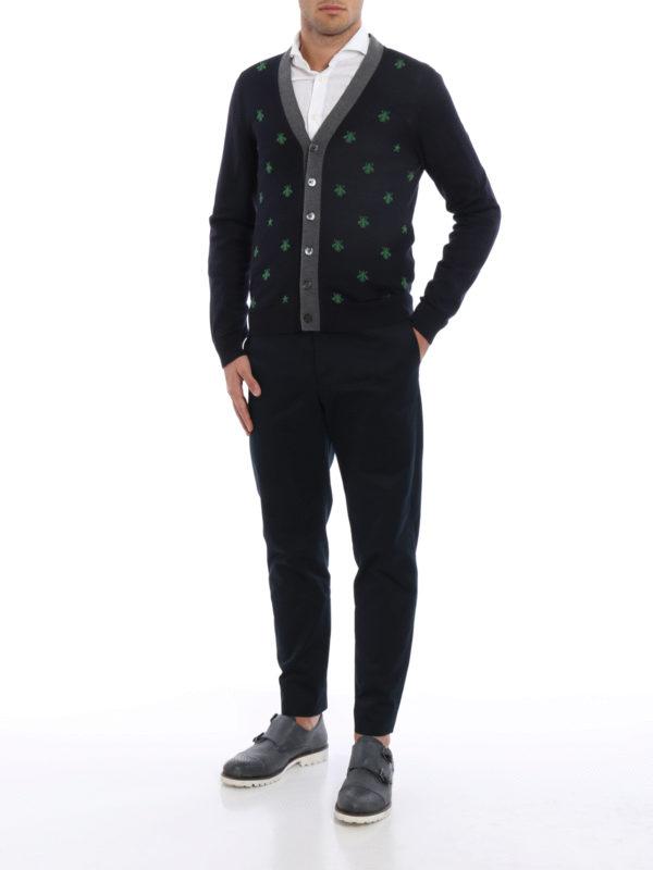 Cardigan - Gemustert shop online: Gucci