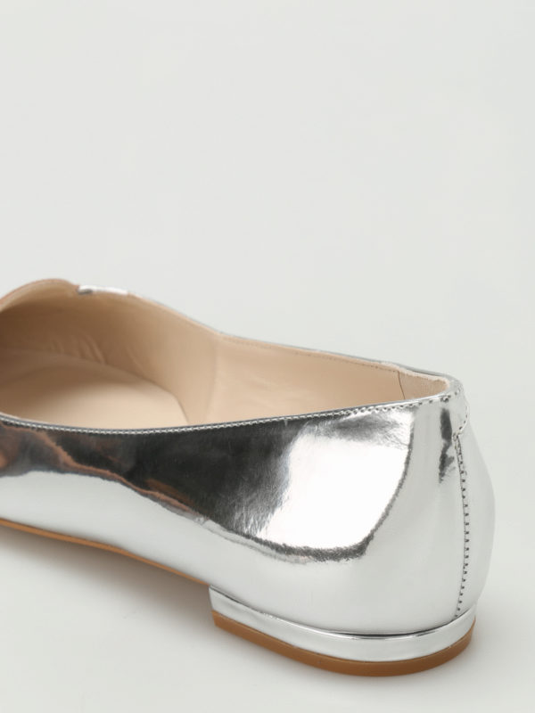 Ballerinas - Silber shop online: Sophia Webster