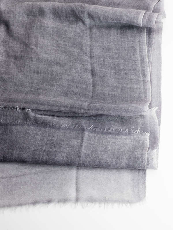 Bicoloured scarf shop online: Avant Toi