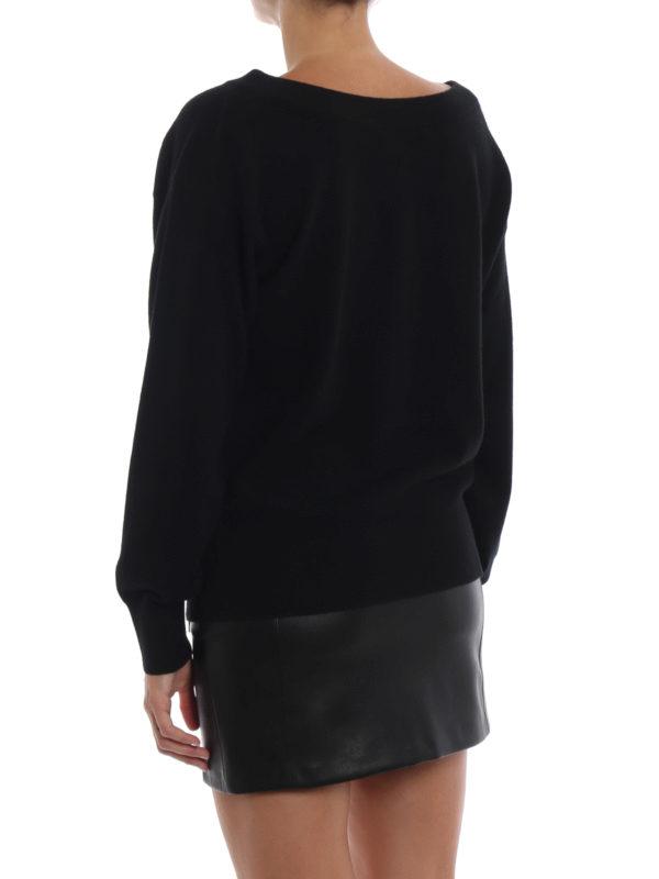V-Pullover - Schwarz shop online: ALEXANDER WANG