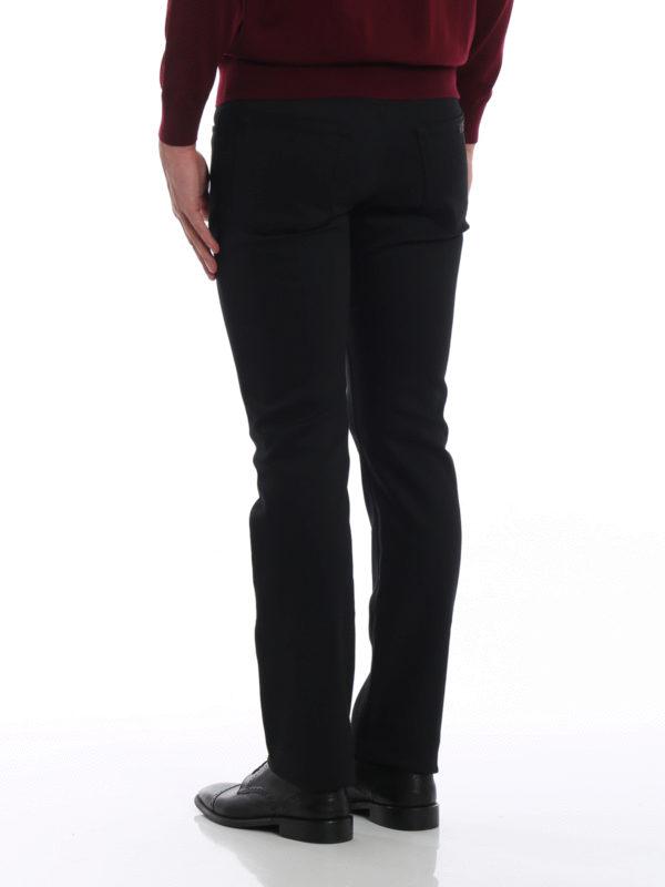 Straight Leg Jeans - Schwarz shop online: PRADA