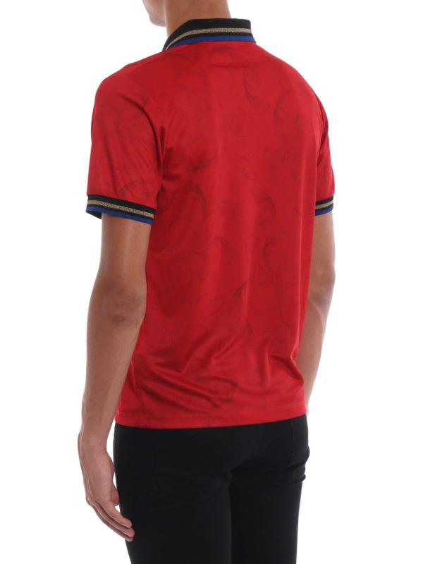 Poloshirt - Rot shop online: VERSACE