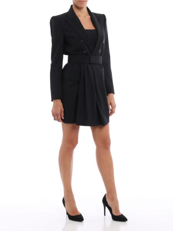 Knielanges Kleid - Einfarbig shop online: Dsquared2