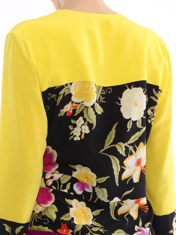 blouses shop online. Tie silk blouse