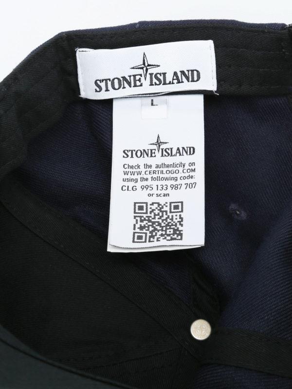 Hut - Blau shop online: STONE ISLAND