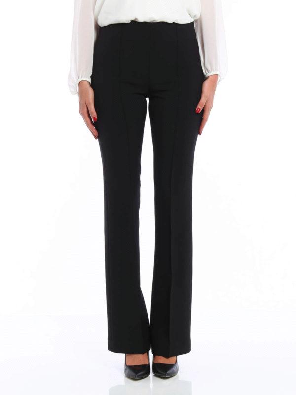 Femme Pour Pantalon Blumarine Noir Pantalons Élégants Ajusté L35AR4cqj