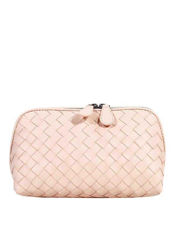 Bottega Veneta: Cases & Covers - Woven nappa beauty case