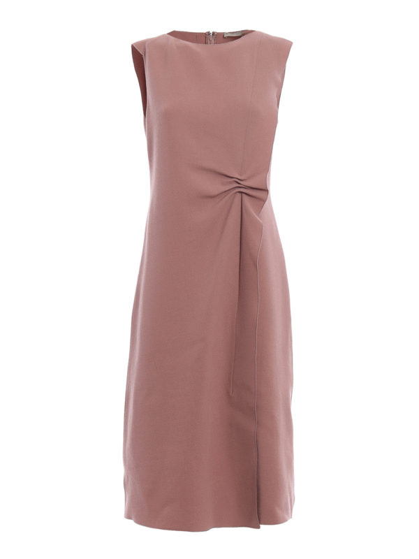 Bottega Veneta: Knielange Kleider - Knielanges Kleid - Einfarbig
