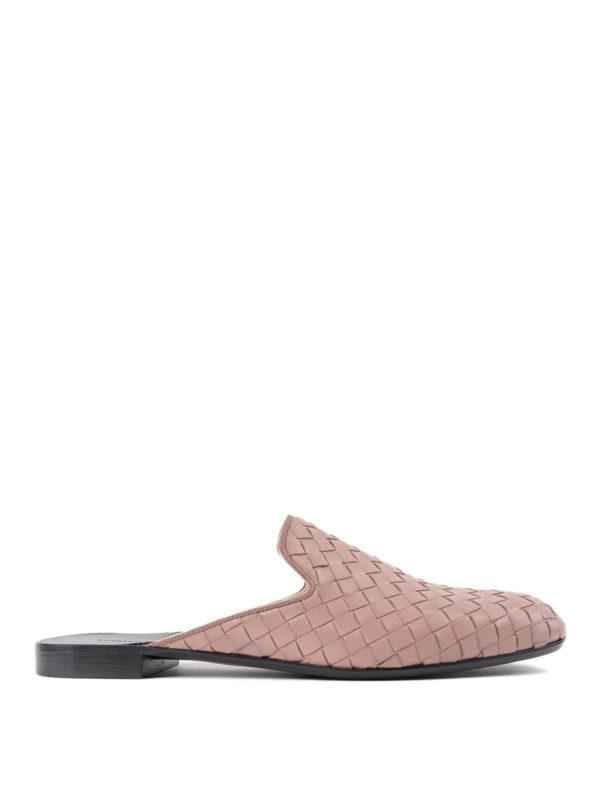 Bottega Veneta: Mokassins und Slippers - Slippers - Einfarbig