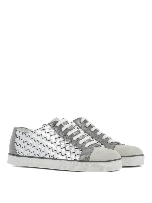 Bottega Veneta: Sneaker online - Sneaker - Silber