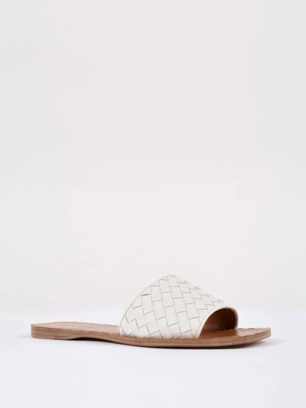 Bottega Veneta: Sandalen online - Sandalen - Weiß