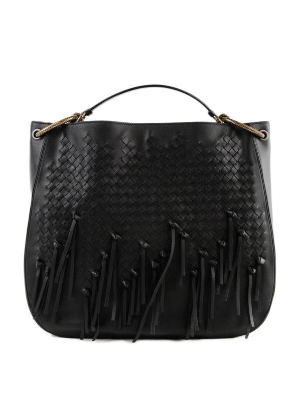 a96bfeafb9ed BOTTEGA VENETA  shoulder bags - Loop Intrecciato nappa leather hobo large  bag
