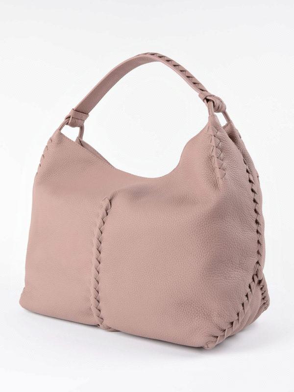 Bottega Veneta: Schultertaschen online - Schultertasche - Pink