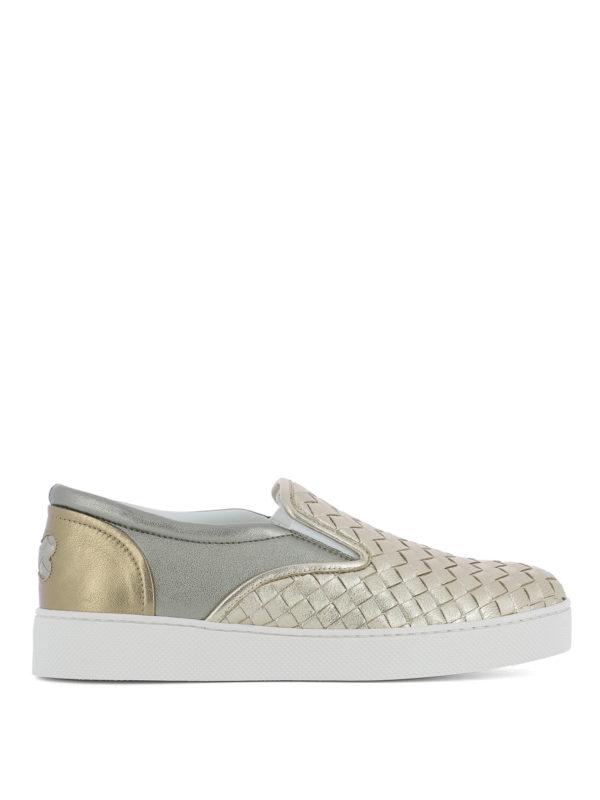 BOTTEGA VENETA: Sneaker - Sneaker - Gold