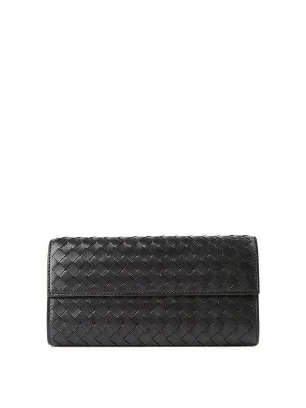 Bottega Veneta: Portemonnaies und Geldbörsen - Portemonnaie - Einfarbig