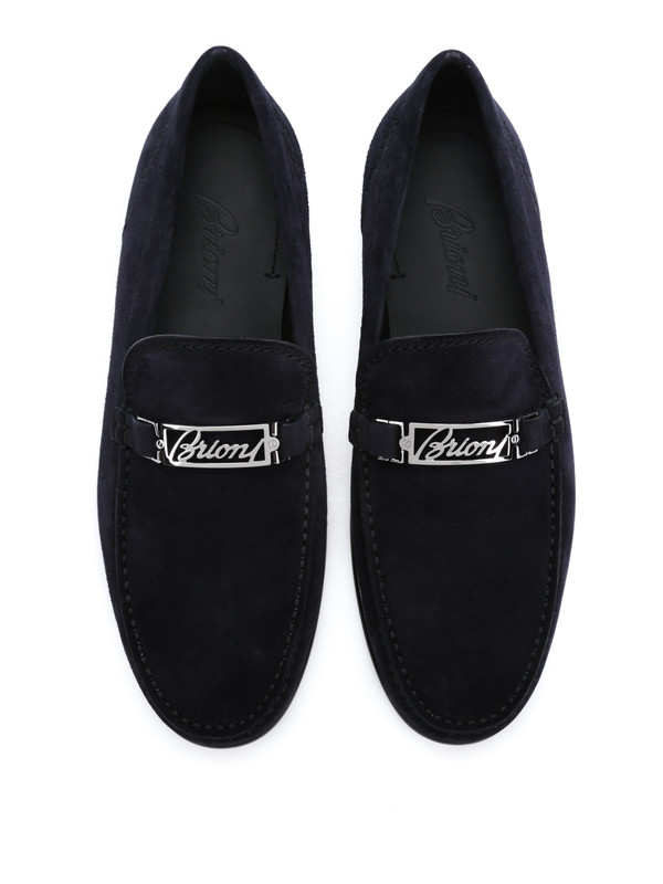 BRIONI buy online Mokassins/Slippers - Blau