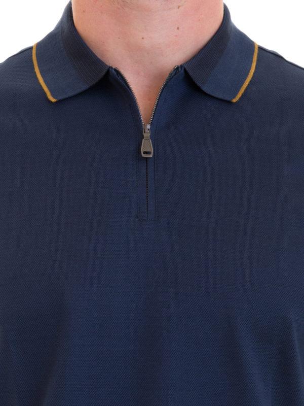 BRIONI buy online Poloshirt - Blau