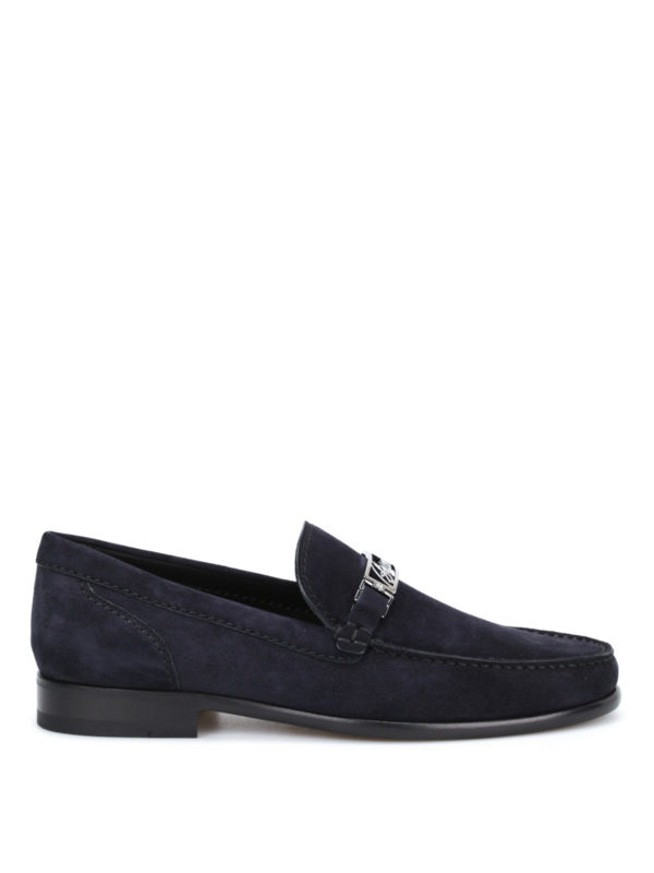 BRIONI: Mokassins und Slippers - Mokassins/Slippers - Blau