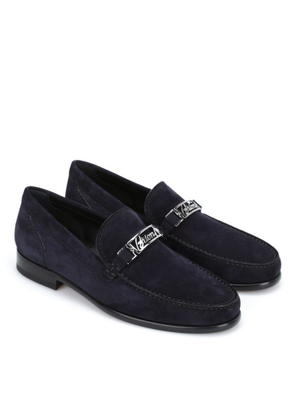 BRIONI: Mokassins und Slippers online - Mokassins/Slippers - Blau