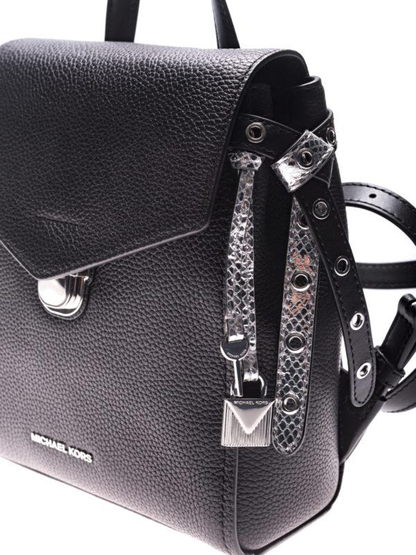 Bristol leather backpack shop online: MICHAEL KORS