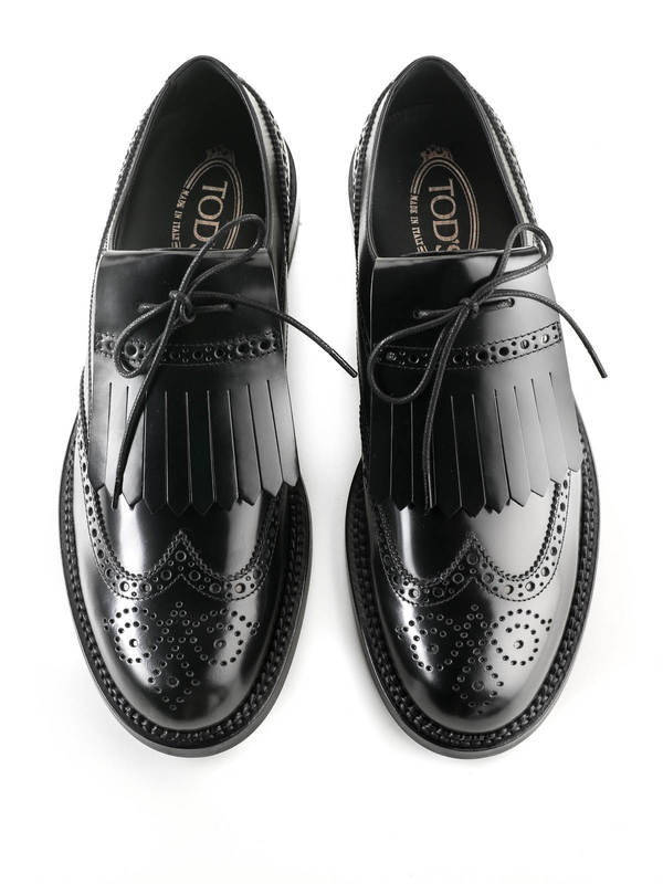 Brogue lace-up shoes shop online: Tod