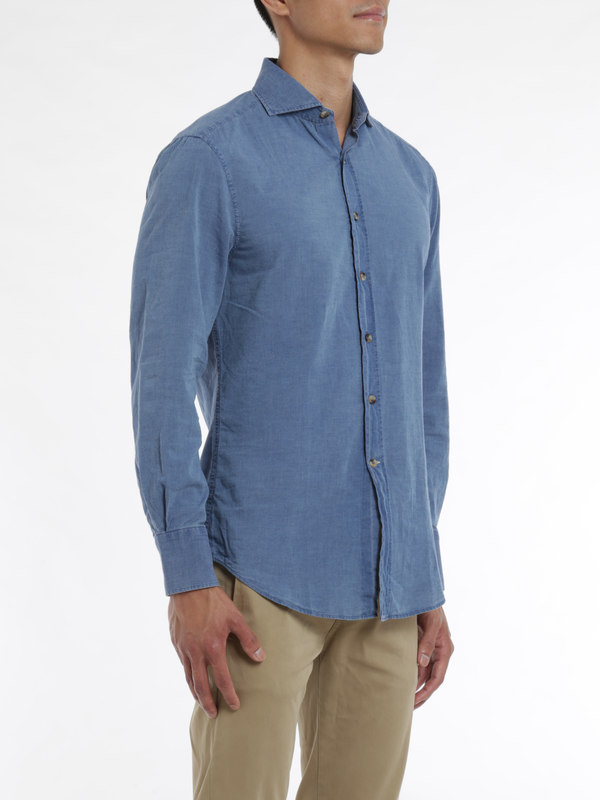 Brunello Cucinelli buy online Denim cotton shirt
