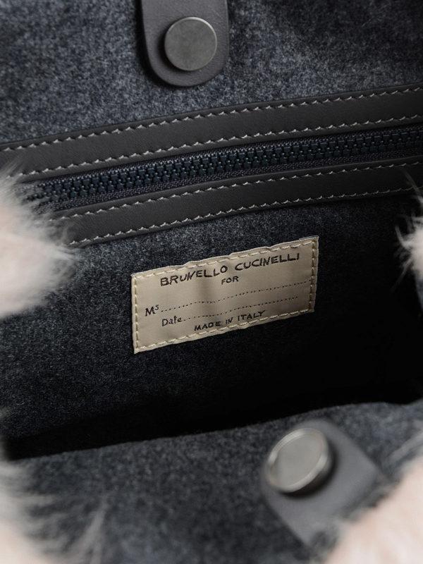 Brunello Cucinelli buy online Shopper - Einfarbig