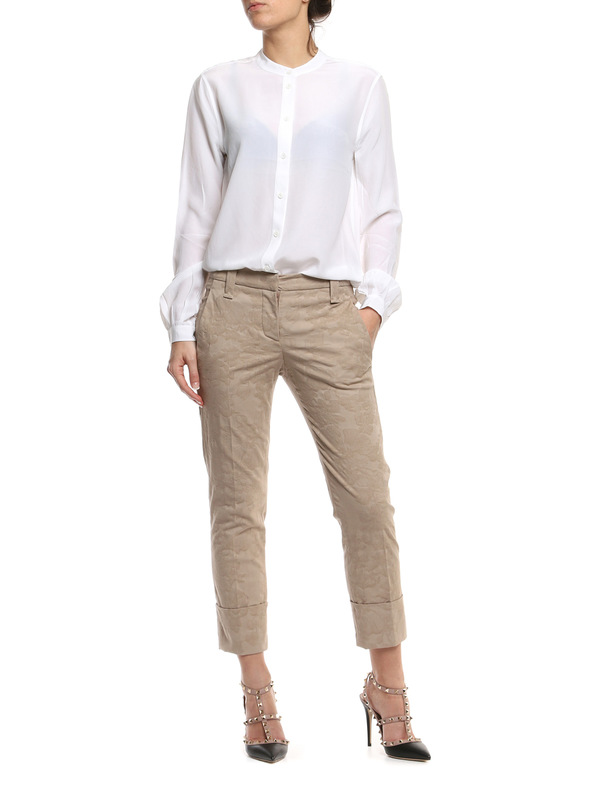 Brunello Cucinelli: casual trousers online - Brocade pants