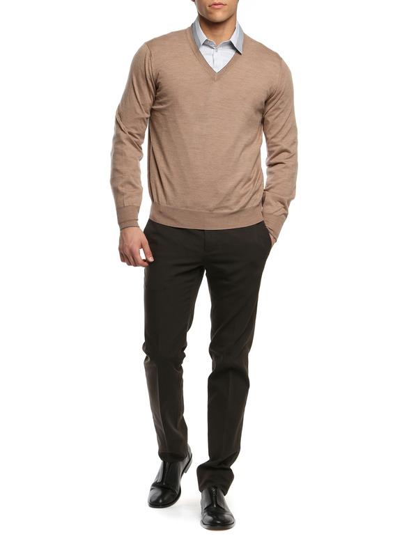 BRUNELLO CUCINELLI: v necks online - Cachemere and silk top