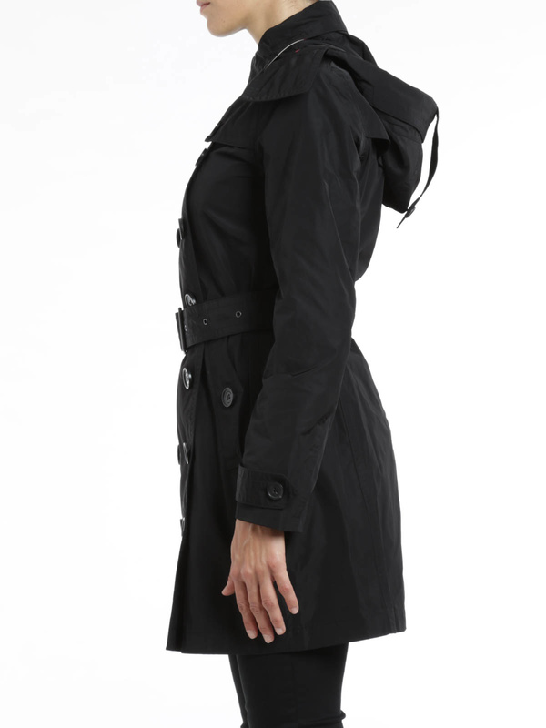 iKRIX Burberry Brit: Trenchcoat Fur Damen - Schwarz