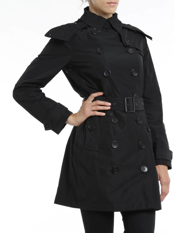 Burberry Brit buy online Balmoral Hooded trench coat