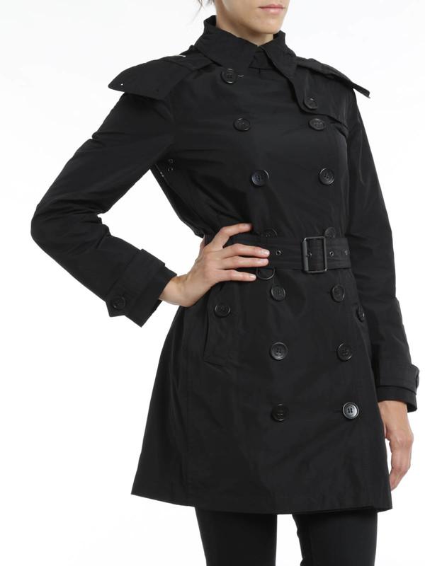 Burberry Brit buy online Trenchcoat Fur Damen - Schwarz