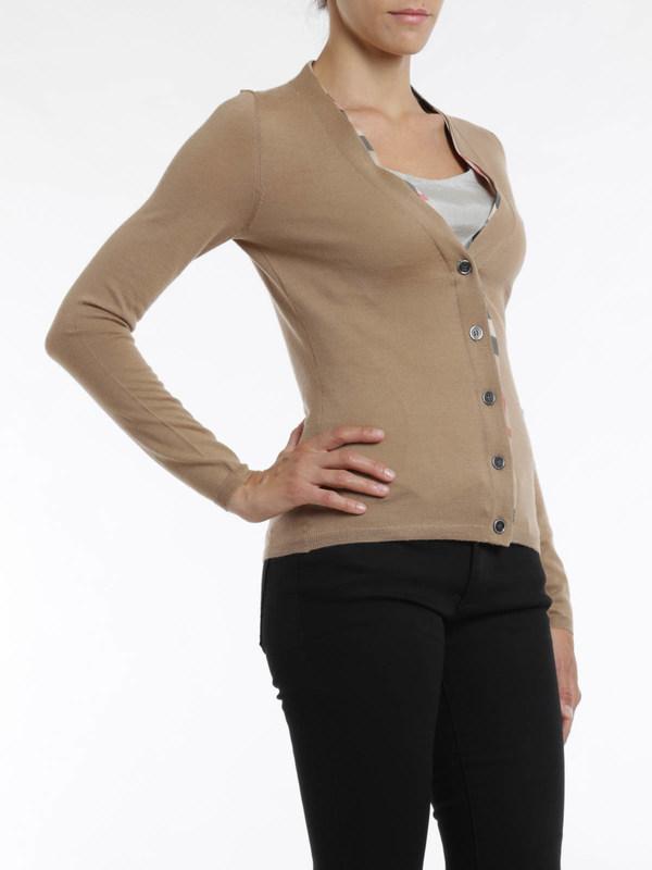 Burberry Brit buy online Merino wool cardigan