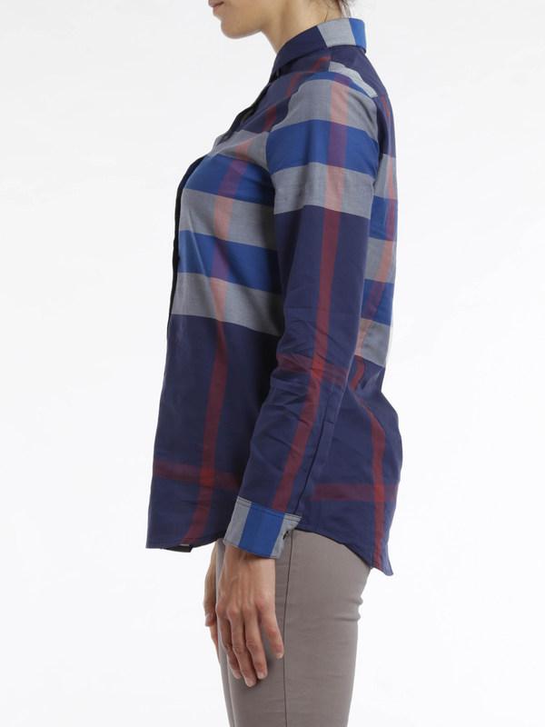 iKRIX Burberry Brit: Check print shirt