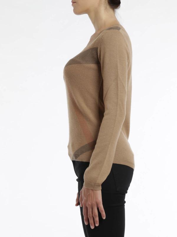 iKRIX Burberry Brit: Check print sweater