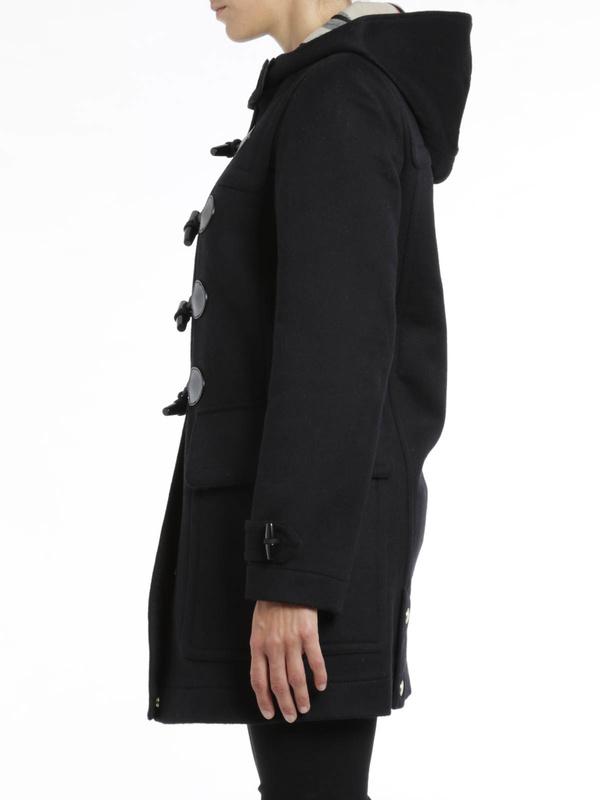 iKRIX Burberry Brit: Finsdale wool duffle coat