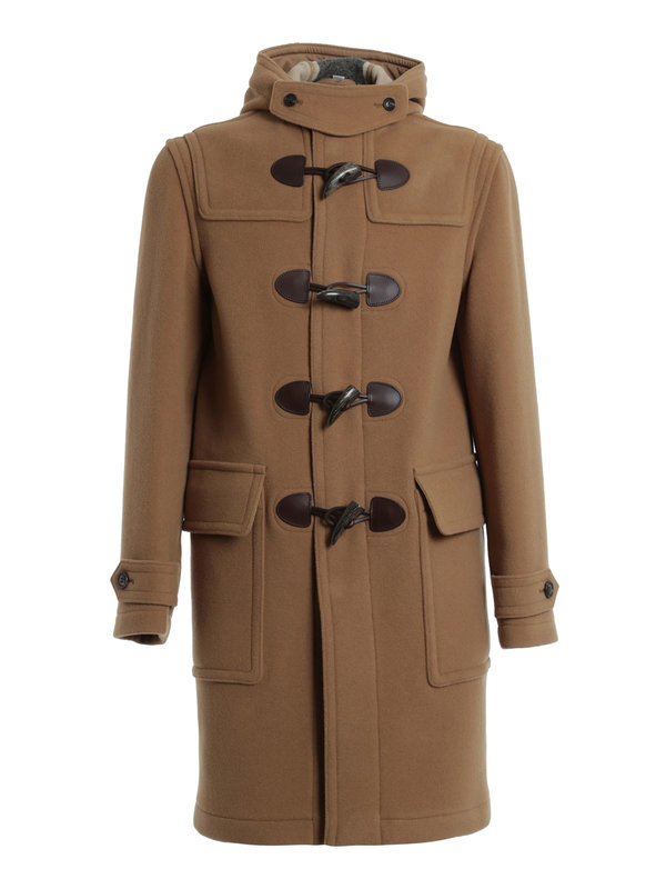brockhurst duffle coat by burberry brit knee length. Black Bedroom Furniture Sets. Home Design Ideas