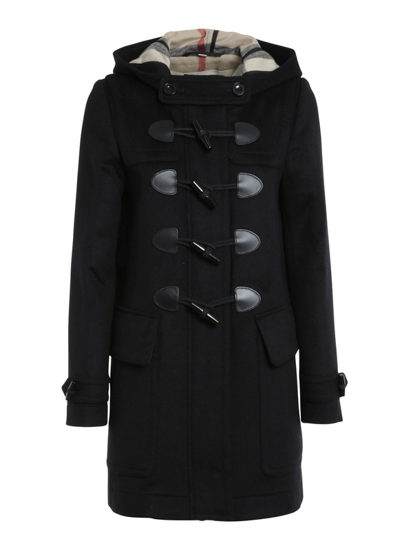 Burberry Brit: knee length coats - Finsdale wool duffle coat