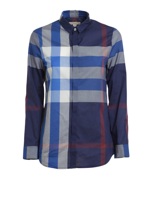 Burberry Brit: shirts - Check print shirt