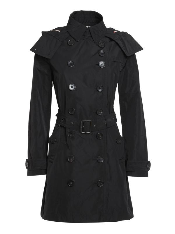 Burberry Brit: Trenchcoats - Trenchcoat Fur Damen - Schwarz