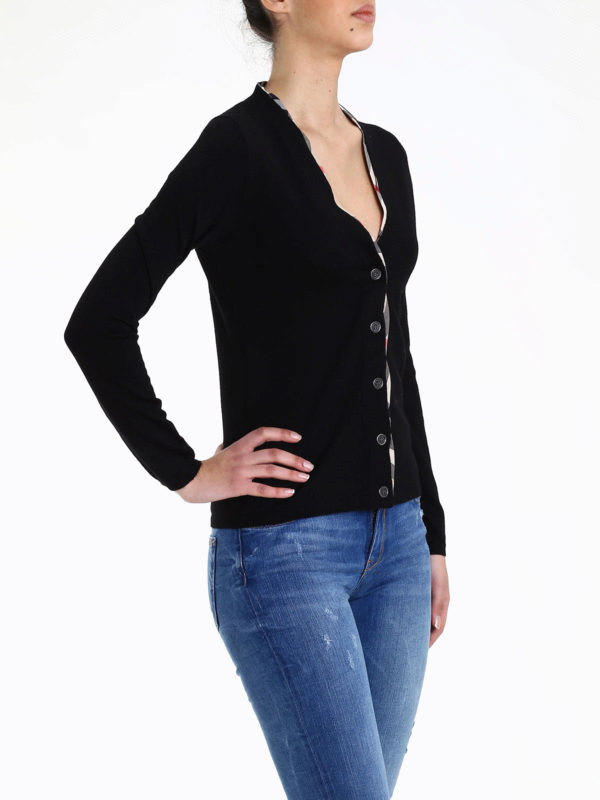 Burberry buy online Merino wool cardigan