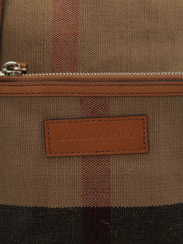 Burberry buy online Susanna Canvas Check bag