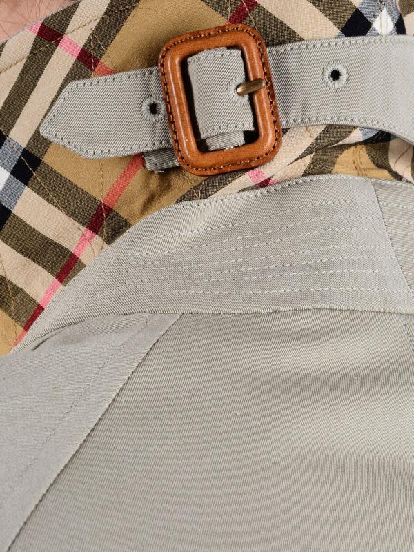 Burberry buy online The Camden beige car coat