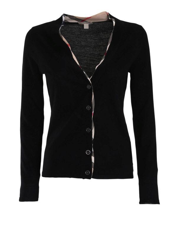 Burberry: cardigans - Merino wool cardigan