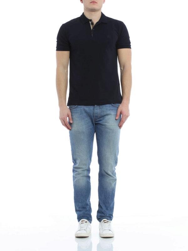 6c592457 Burberry - Cotton pique polo shirt - polo shirts - 4010694   iKRIX.com